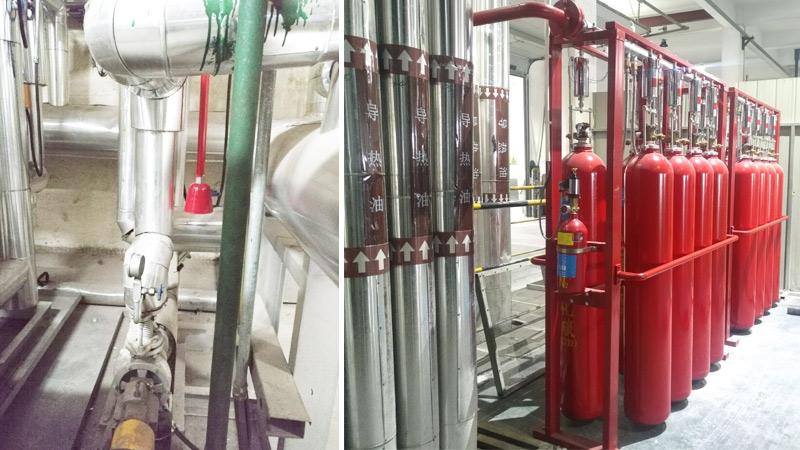 油泵房自动灭火系统