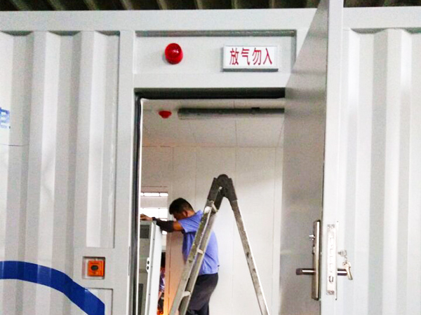 锂电池储能集装箱灭火系统解决方案