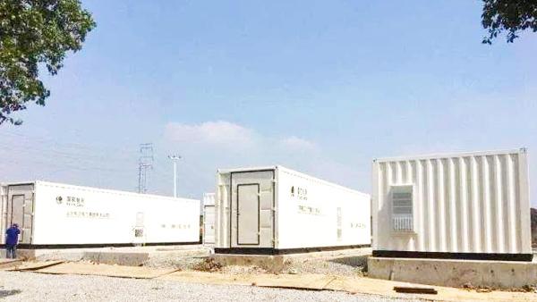 锂电池储能集装箱灭火系统