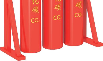 高压二氧化碳瓶组框架