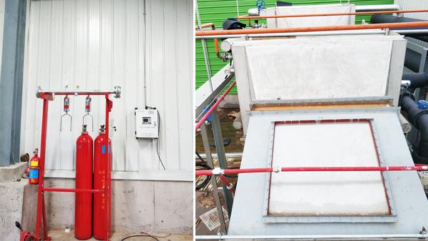 工业布袋除尘器灭火系统