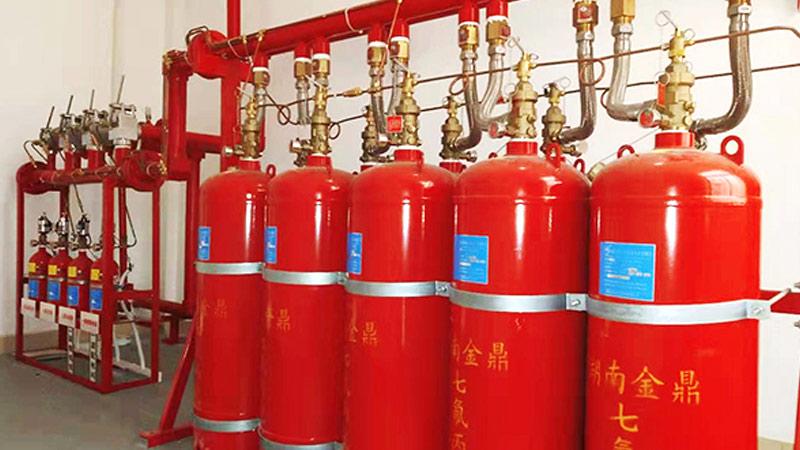 七氟丙烷气体灭火设备