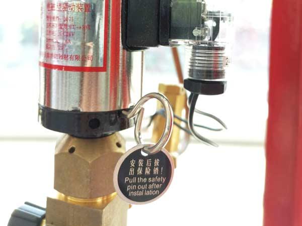 气体灭火系统电磁阀
