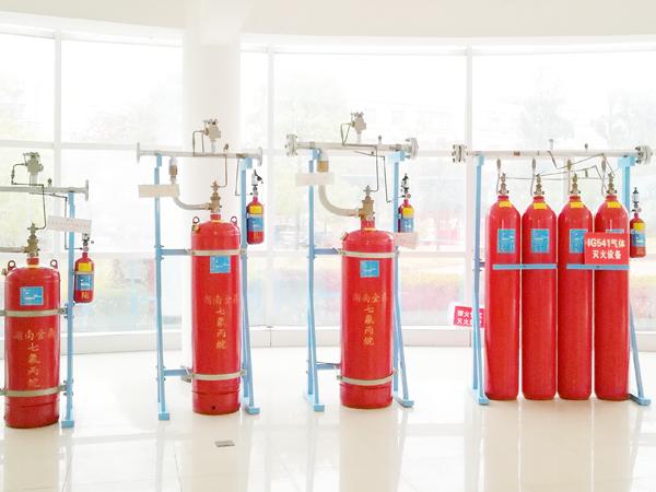 ig541气体灭火系统与七氟丙烷灭火系统的区别