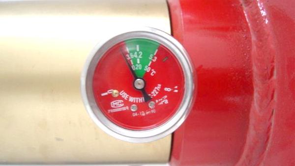七氟丙烷灭火系统压力不足