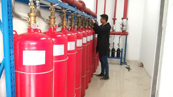 七氟丙烷灭火系统检测充装