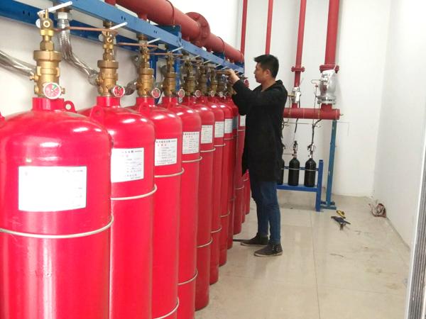 七氟丙烷灭火系统压力不足,企业要注意啦!