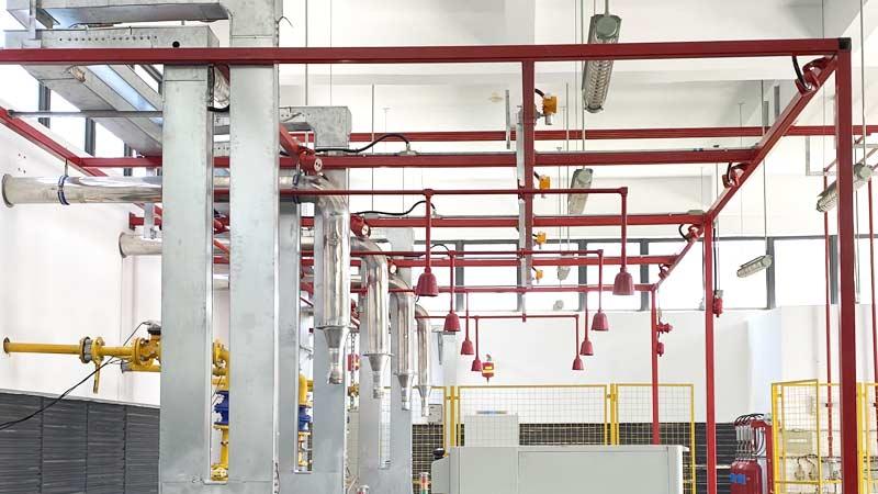 管网式气体灭火系统