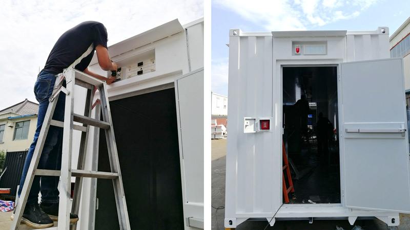 储能集装箱气体灭火系统
