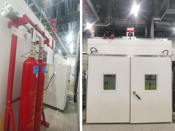 环境仓二氧化碳气体灭火系统,念海消防助力上海群羿能源研发生产安全
