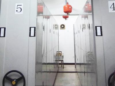 企事业档案室气体灭火系统