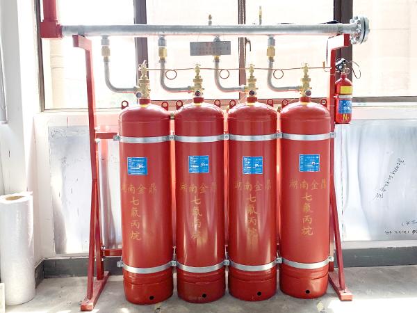 七氟丙烷气体灭火原理