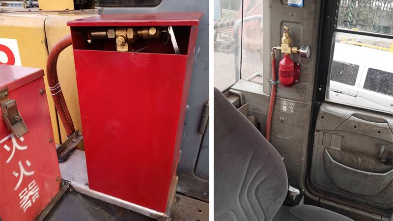 车载水基型灭火装置