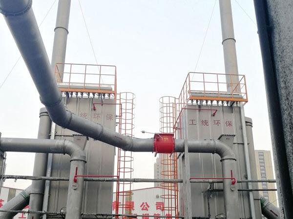 布袋除尘器管网D类干粉灭火系统项目案例-念海消防