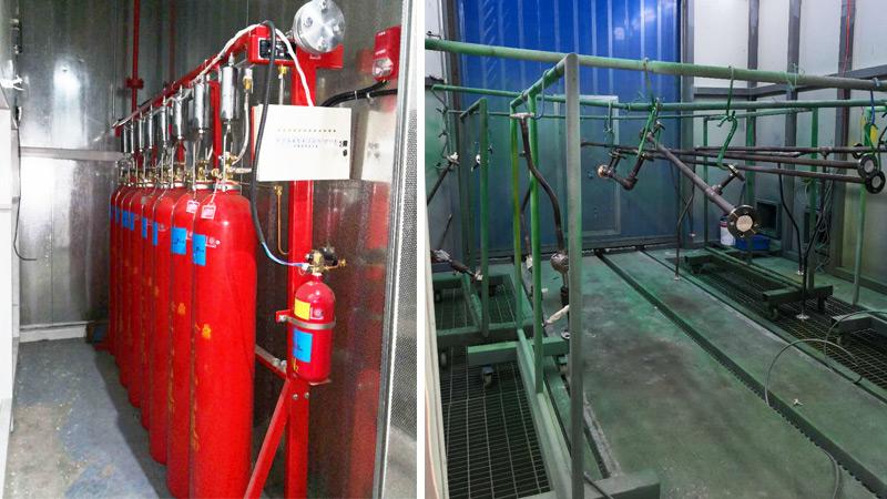 喷涂生产线消防灭火系统