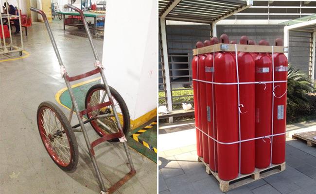 气瓶设备拆装运输