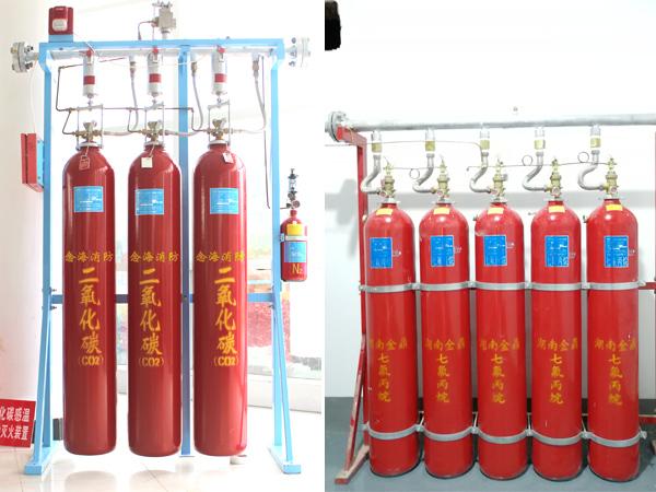 浅谈七氟丙烷灭火系统和二氧化碳灭火系统的区别
