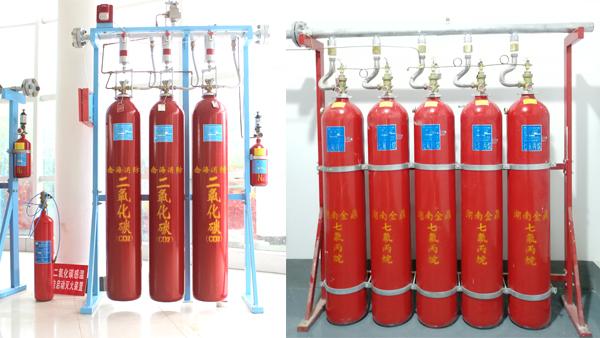 七氟丙烷高压二氧化碳