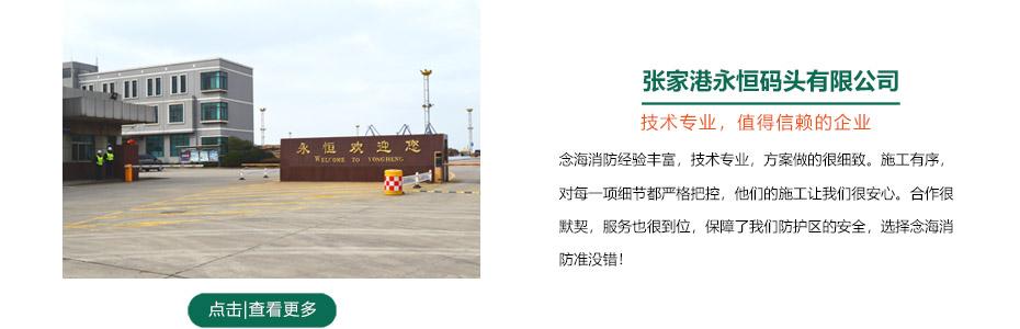 张家港永恒码头档案室柜式七氟丙烷灭火装置