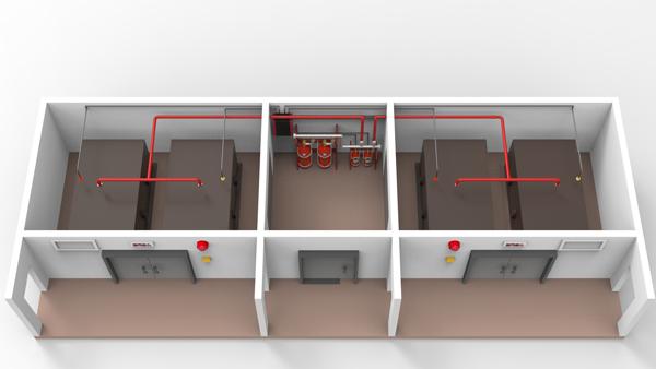 管网七氟丙烷灭火系统灭火优点