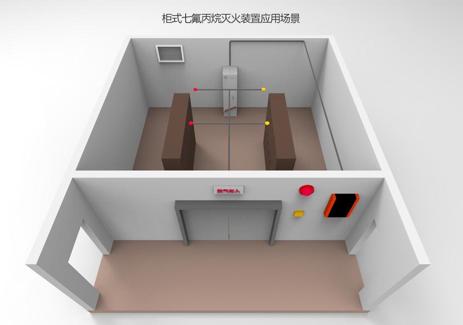 柜式七氟丙烷灭火装置应用场景