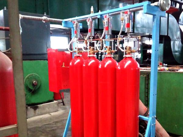 轧机灭火系统
