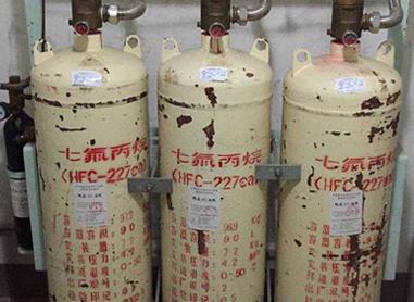 消防气瓶外壁锈蚀