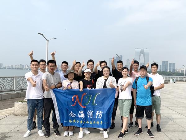 念海消防金鸡湖30公里徒步