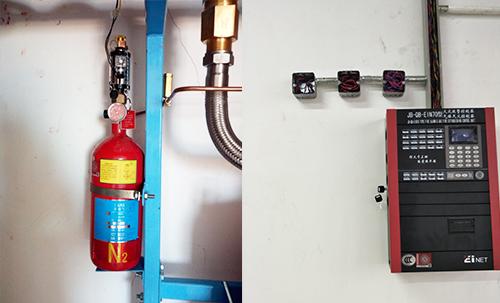 通讯配电房气瓶间灭火系统