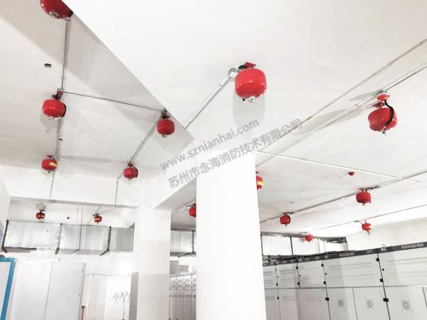 悬挂式超细干粉灭火装置