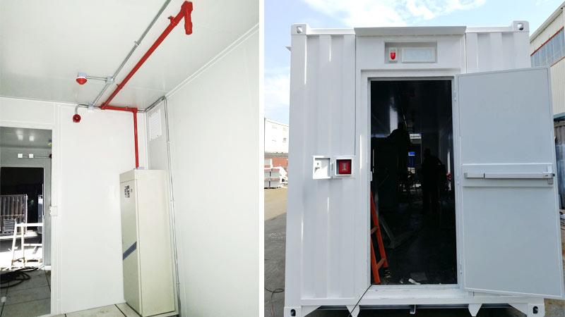 储能集装箱七氟丙烷气体灭火系统
