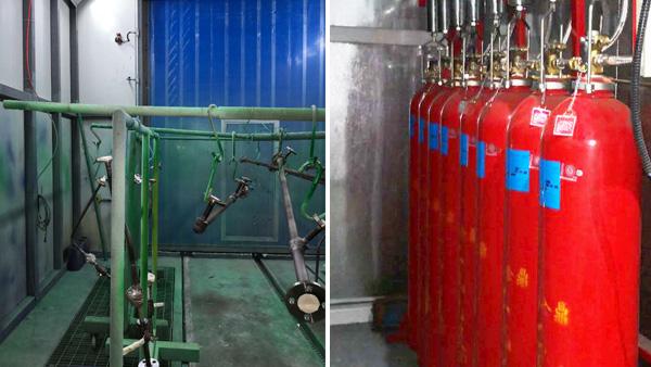 涂装车间喷漆房灭火系统