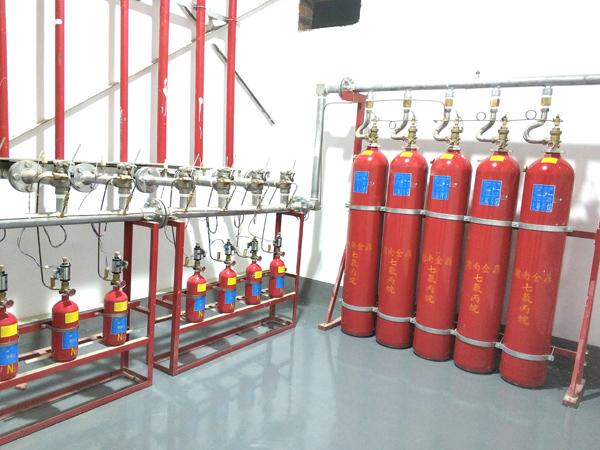 七氟丙烷灭火系统在汽车发动机实验室的应用