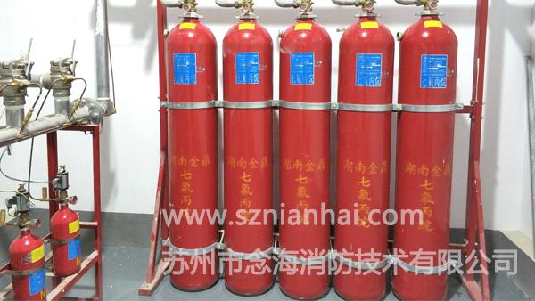 汽车发动机实验室七氟丙烷灭火系统