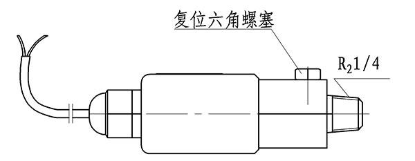 高压二氧化碳灭火系统信号反馈装置