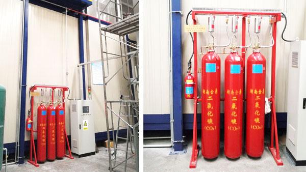 高压二氧化碳灭火系统