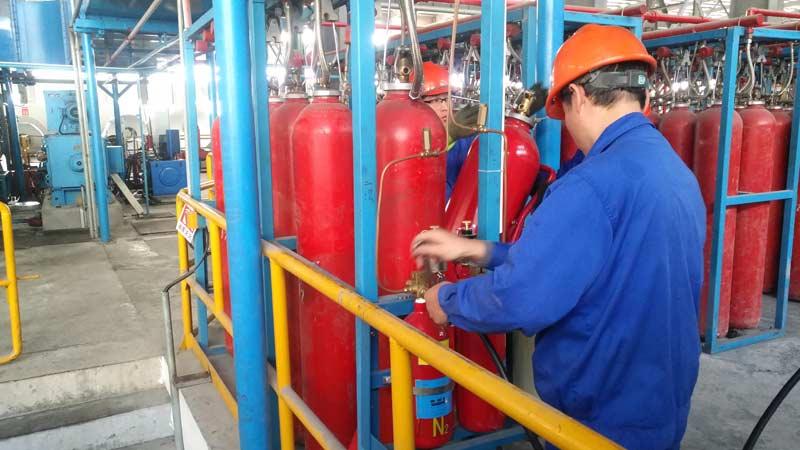 轧机高压二氧化碳灭火系统