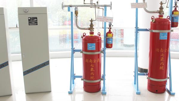 发电机房气体灭火系统