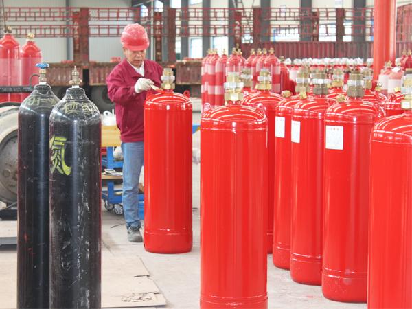 消防气瓶检测流程