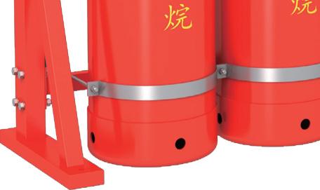 管网七氟丙烷瓶组框架