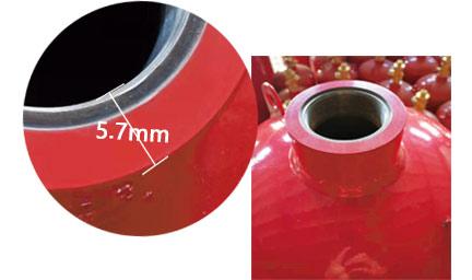 探火管式灭火装置气瓶