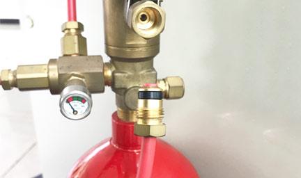 探火管式灭火装置承插方式