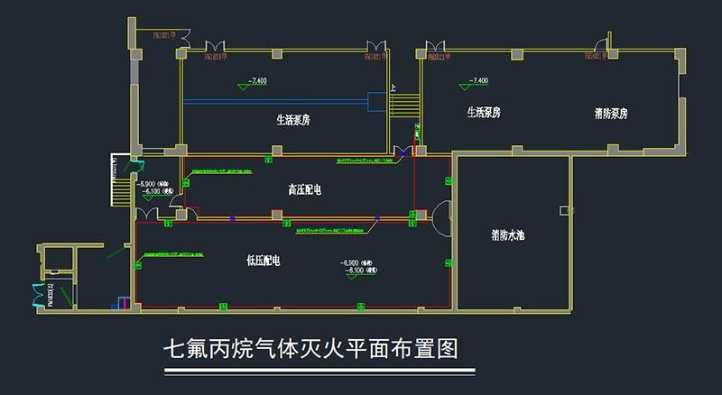 配电室气体灭火设计方案