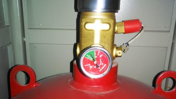 七氟丙烷压力表