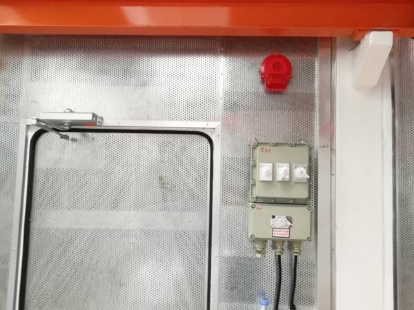 储能集装箱天然气发电机组灭火系统