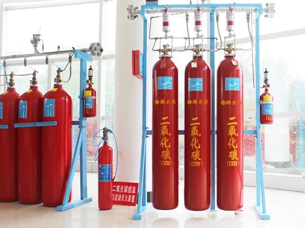 发电机组二氧化碳灭火系统