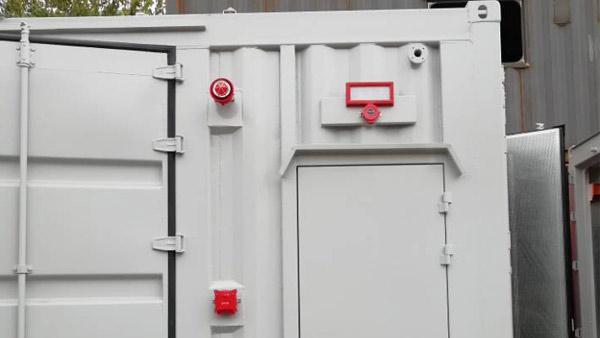 天然气发电机组灭火系统