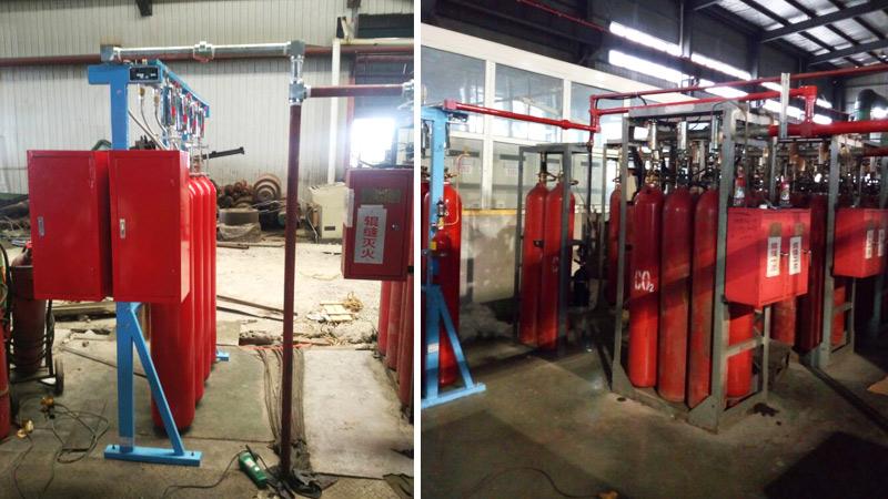 冷轧机二氧化碳灭火系统