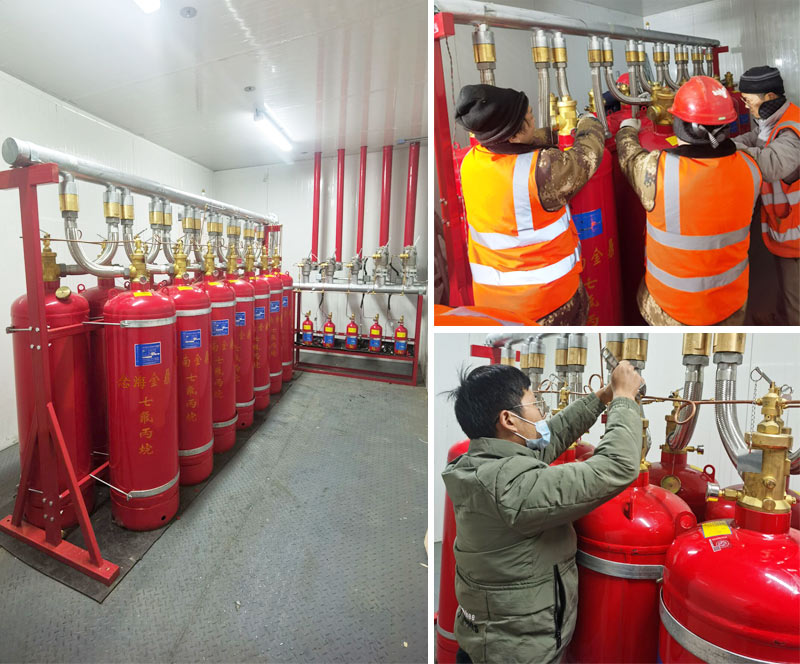高低温环境模拟实验室七氟丙烷灭火系统