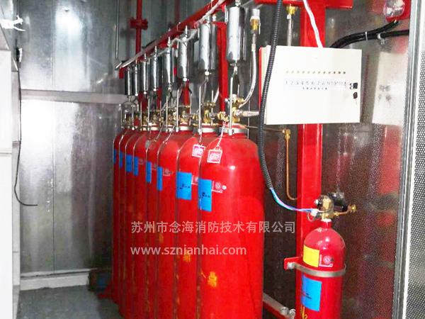 喷漆房自动灭火装置的配置,喷漆房灭火系统的设置